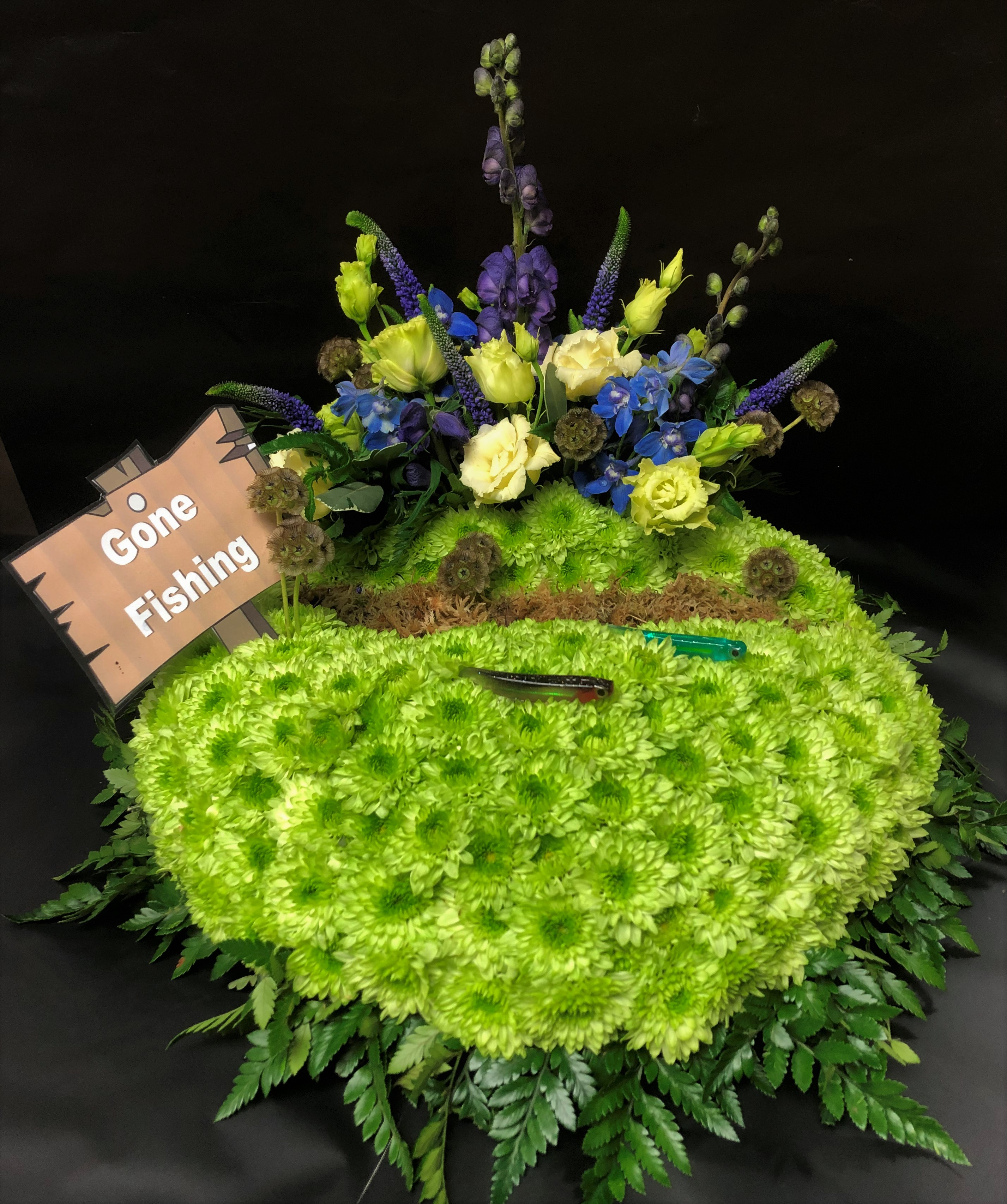 Hobbies and Leisure Funeral Flowers