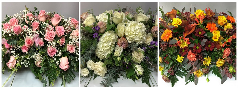 Mixed flower bouquets